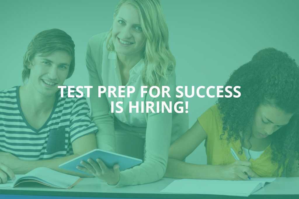 Photo of Test Prep for Success is hiring!