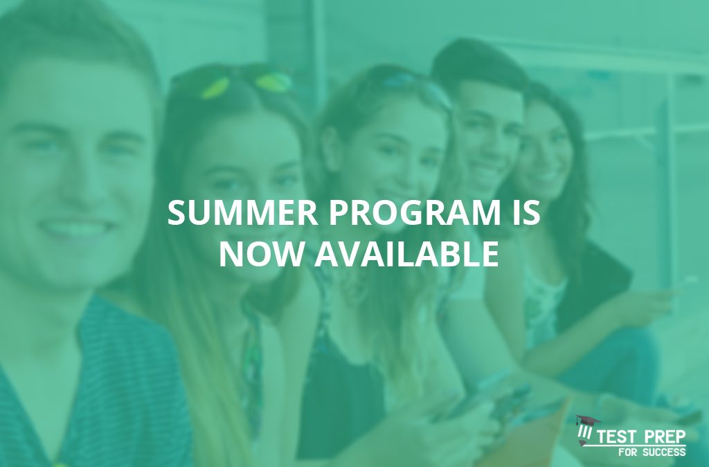 Summer program is now available
