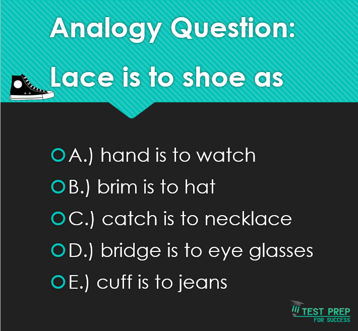 Answer to our analogy question!