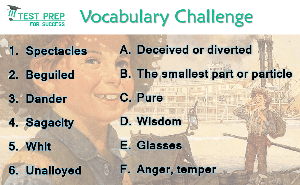 Answers to the Vocabulary Challenge