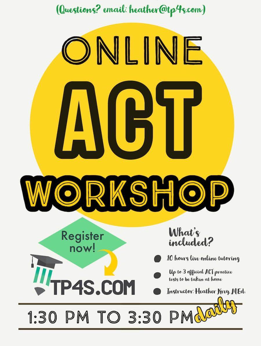 online ACT Workshop